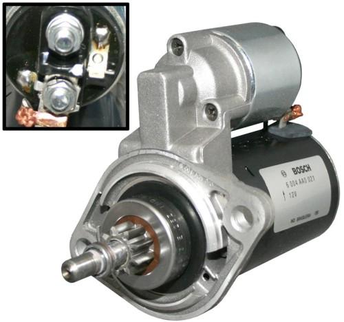 Startmotor 12 Volt Origineel Bosch Van Grinsven Classics